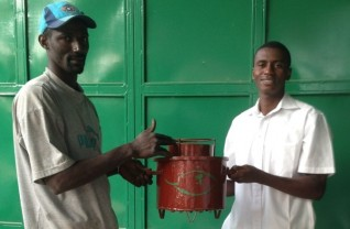 Stove Donation to Green Mamba Staff